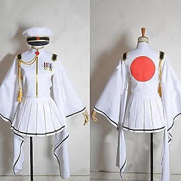 Vocaloid Senbon zakura Blanco llama Hatsune Miku Traje Cosplay ...