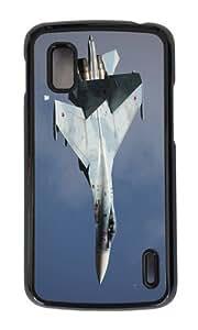 Google Nexus 4 Case,MOKSHOP Adorable sioux 27sm3 Hard Case Protective Shell Cell Phone Cover For Google Nexus 4 - PC Black
