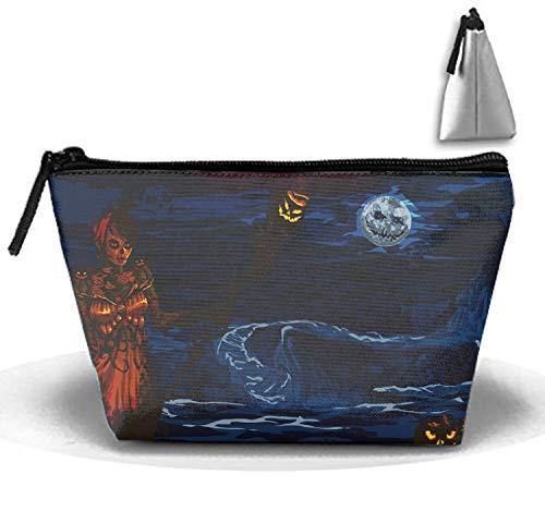 Halloween Guild Wars Multi-functional Trapezoidal Strorege Bag Travel Cosmetic Bag ()