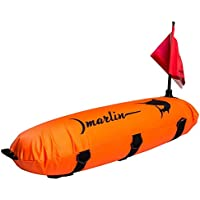 Marlin Dive Spearfishing Torpedo Buoy Float with Dive Flag