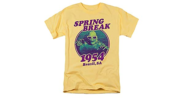 Creature from the Black Lagoon T-Shirt Spring Break Banana Tee