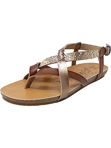 (Blowfish Women's Granola-B Scotch/Amber/Desert Rose Mirage Snake 8.5 M US)