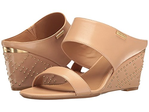 Calvin Klein Wedge (Calvin Klein Women's Phyllis Sandstorm Leather Shoe)
