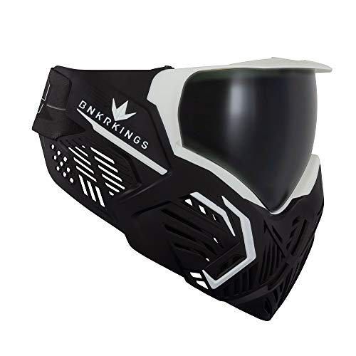 Bunker Kings CMD Paintball Goggle/Mask - Black Storm