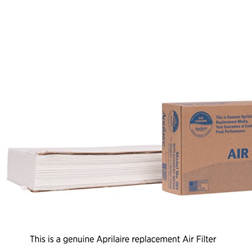 House High Efficiency Furnace Filter - Aprilaire 201 Replacement Filter for Aprilaire Whole House Air Purifier Models: 2200, 2250, Space Gard 2200, MERV 10 (Pack of 1)