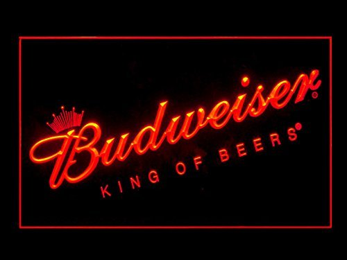 Budweiser King Of Beers Bar Pub Led Light Sign
