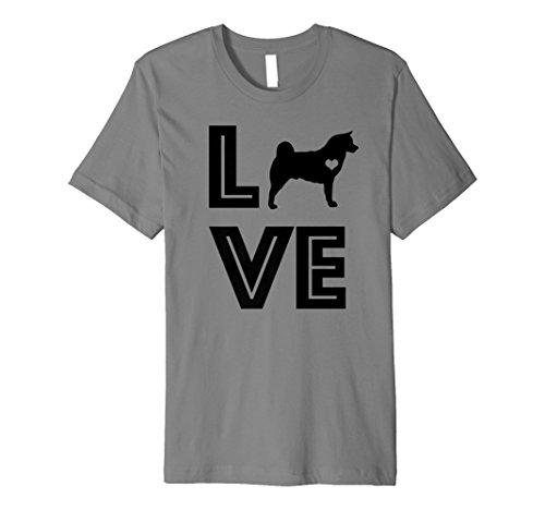 I Heart Dogs Akita Pet Lover Gift G002468