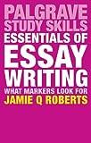 Essentials of Essay Writing