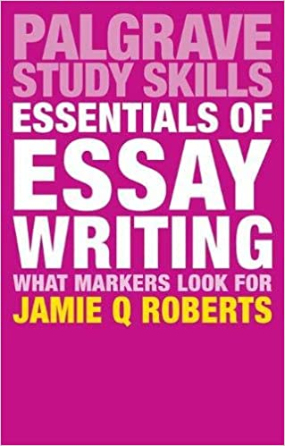 Essentials Of Essay Writing What Markers Look For Macmillan Study  Essentials Of Essay Writing What Markers Look For Macmillan Study Skills  St Ed  Edition Do My Database Assignment also Best Essays In English  What Is The Thesis Of A Research Essay