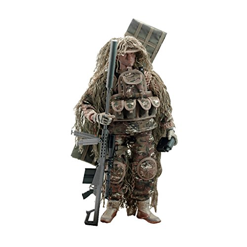 1/6 US Army Soldier All-terrain Sniper Action Figure 12 ()