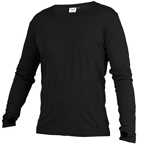 Merino 365 Merino Longsleeve with Thumbloops, Large, - Top Womens First Layer