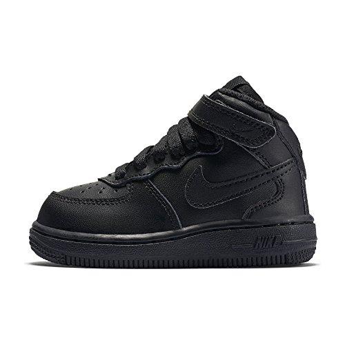 NIKE [314197-004] Force 1 Mid (TD) Infants Shoes - Td 004