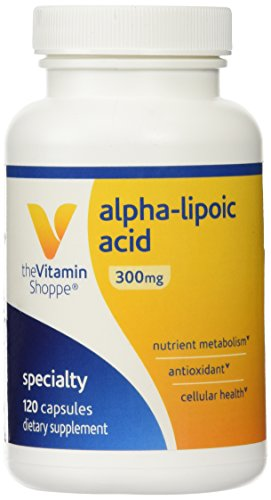 Vitamin Shoppe - Alpha-Lipoic Acid, 300 mg, 120 capsules.