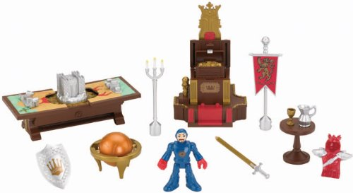 Fisher-Price Imaginext Castle Battle Plan Playset (Price Fisher Adventure Castle)
