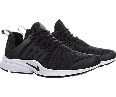 Image of NIKE Women's Air Presto Black/Black/White Running Shoe