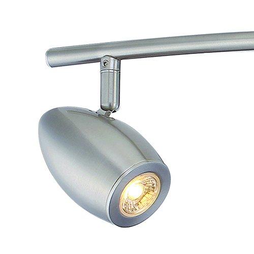Led Track Lighting Brushed Nickel: Designers Fountain EVT101727-35 Modern 3'. Brushed Nickel