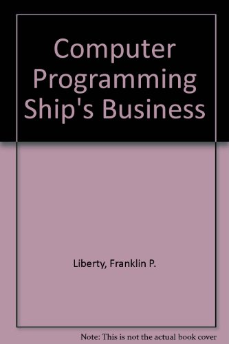 Computer Programming Ship's Business