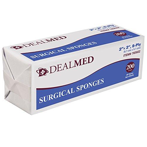 Dealmed Medical Surgical Sponges, 2