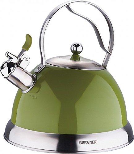 2,6 litros Acero inoxidable Hervidor - Verde Oliva ...