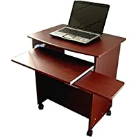 Compact Mobile Comp. Desk w/ Mouse Tray 26 W. ST2718