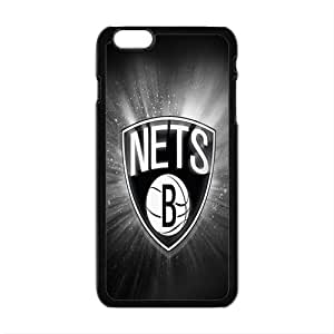 Brooklyn Nets NBA Black Phone Case for iPhone plus 6 Case
