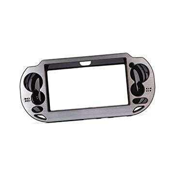 SODIAL(R) Carcasa Funda Rigida de Aluminio Metal para Sony PS Vita PSV Plateado