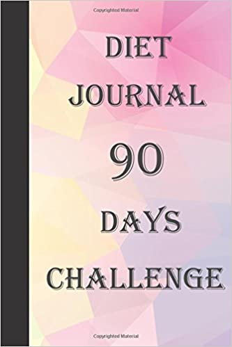 diet journal 90 days challenge food diary and calorie tracker