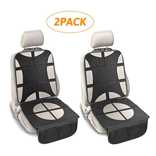 Discover Bargain 2 Pack Car Seat Protector for Child Car seat, AVNICUD Waterproof Anti-Slip Seat Pro...