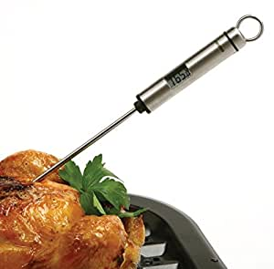 Digital Read Thermometer Stainless Steel BBQ Candy Meat Fish