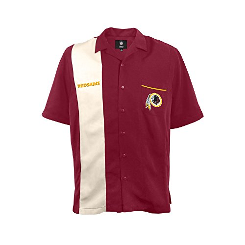 NFL Washington Redskins Strike Bowling Shirt, Large (Redskins T-shirt Football)