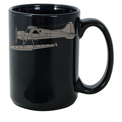 GANTEE - de Havilland Canada (DHC-2) Beaver MUG 11oz Unique coffee mug, Ceramic coffee mug, Gift for Men or Women, Funny Mug, Dad Birthday Gift