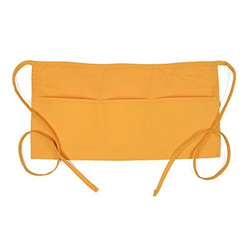 (Fame Adult 3 Pocket Waist Apron (Yellow - O/S) F9-83536)