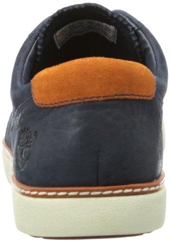 Timberland EKHUDSTON OX NAVY TM C5024A, Sneaker Uomo Blu (Blau (Blue))