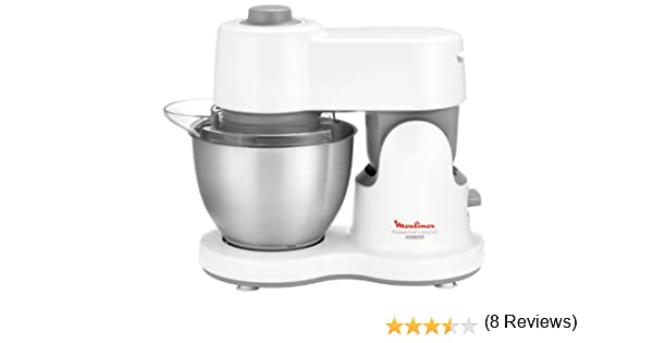 Moulinex Masterchef Compact 700W 3.5L Acero inoxidable, Color blanco - Robot de cocina (3,5 L, Acero inoxidable, Blanco, 1 L, Acero inoxidable, De plástico, 700 W): Amazon.es: Hogar