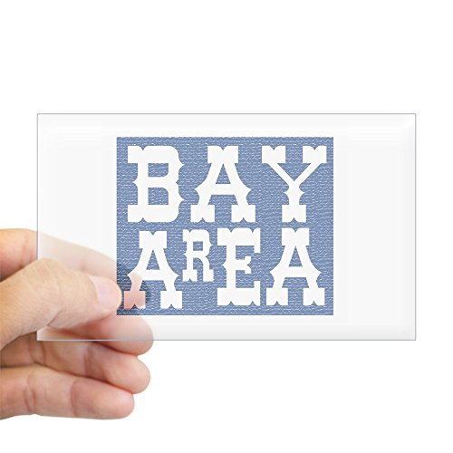 CafePress - BAY AREA Rectangle Sticker - Rectangle Bumper Sticker Car - Sf Castro Street
