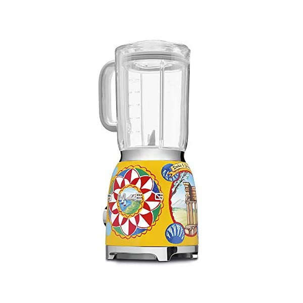 """Dolce and Gabbana x Smeg Countertop Blender BLF01DGUS,""""Sicily Is My Love,"""" Collection 5"""