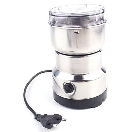 Lovelysunshiny Molinillo de Pulido eléctrico del Grano de café de la máquina de molinería del Acero