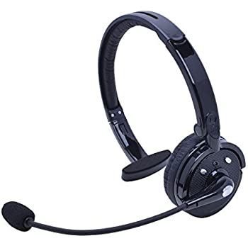 wireless truck driver bluetooth headset with boom microphone stardrift over the. Black Bedroom Furniture Sets. Home Design Ideas