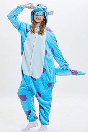 Partylandia Disfraz de Monstruo Peluche Pijama - Unisex, Única ...
