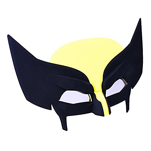 Sunstaches Marvel Wolverine Character Sunglasses, Party Favors, UV400