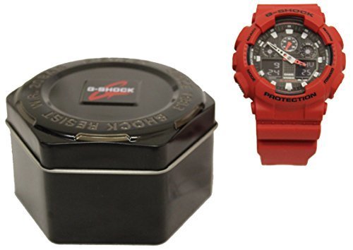 Casio G-Shock Classic Series Red Watch GA100B-4A by Unknown