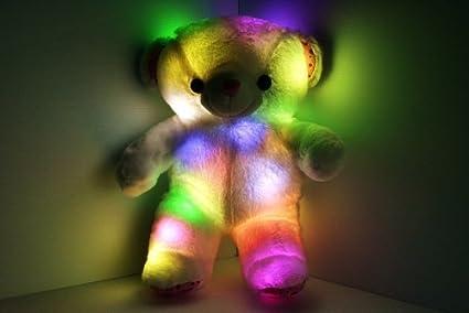 LED Light Up Glow Teddy Bear Pillow Pet