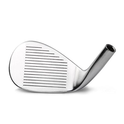 MAZEL S-King 300 Golf Iron Sand Wedge/SW Head (Silver, Loft 55°) (Sand Wedge 55 Degree Loft)
