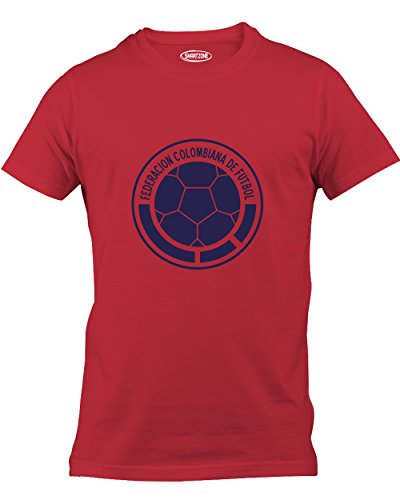 Smart Zone Colombia Shirt James Rodriguez Men's T- Shirt Red XX-Large