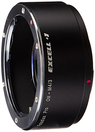 Fotodiox Fotodiox Pro Excell+1 Lens Adapter w/ Focal Reducing Light Gathering Optics - OM Lens to MFT Camera