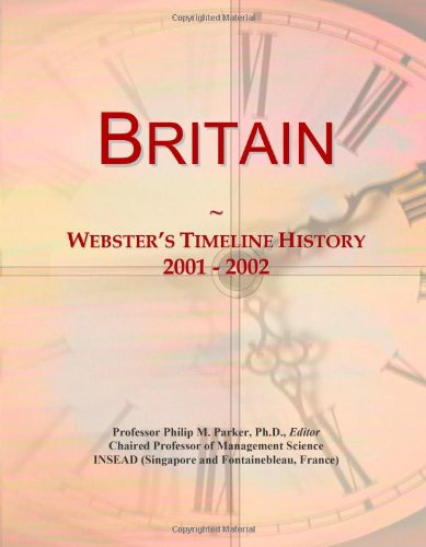 Britain: Webster's Timeline History, 2001 - 2002