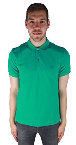 Burberry 4043538 40435381 Vibrant Teal Herren Polo Shirt Grun