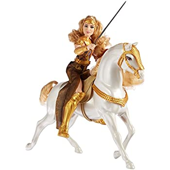 DC Wonder Woman Queen Hippolyta Doll & Horse, 12""