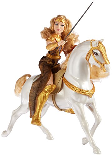 Wonder+Woman Products : DC Wonder Woman Queen Hippolyta Doll & Horse, 12""