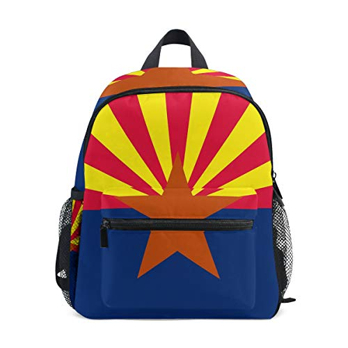 Arizona State Flag Mini Kids Backpack Pre-School Age 3-8 Toddler ()